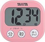 タニタ(TANITA)でか見えタイマー100分 フランボワーズピンク TD-384-PK