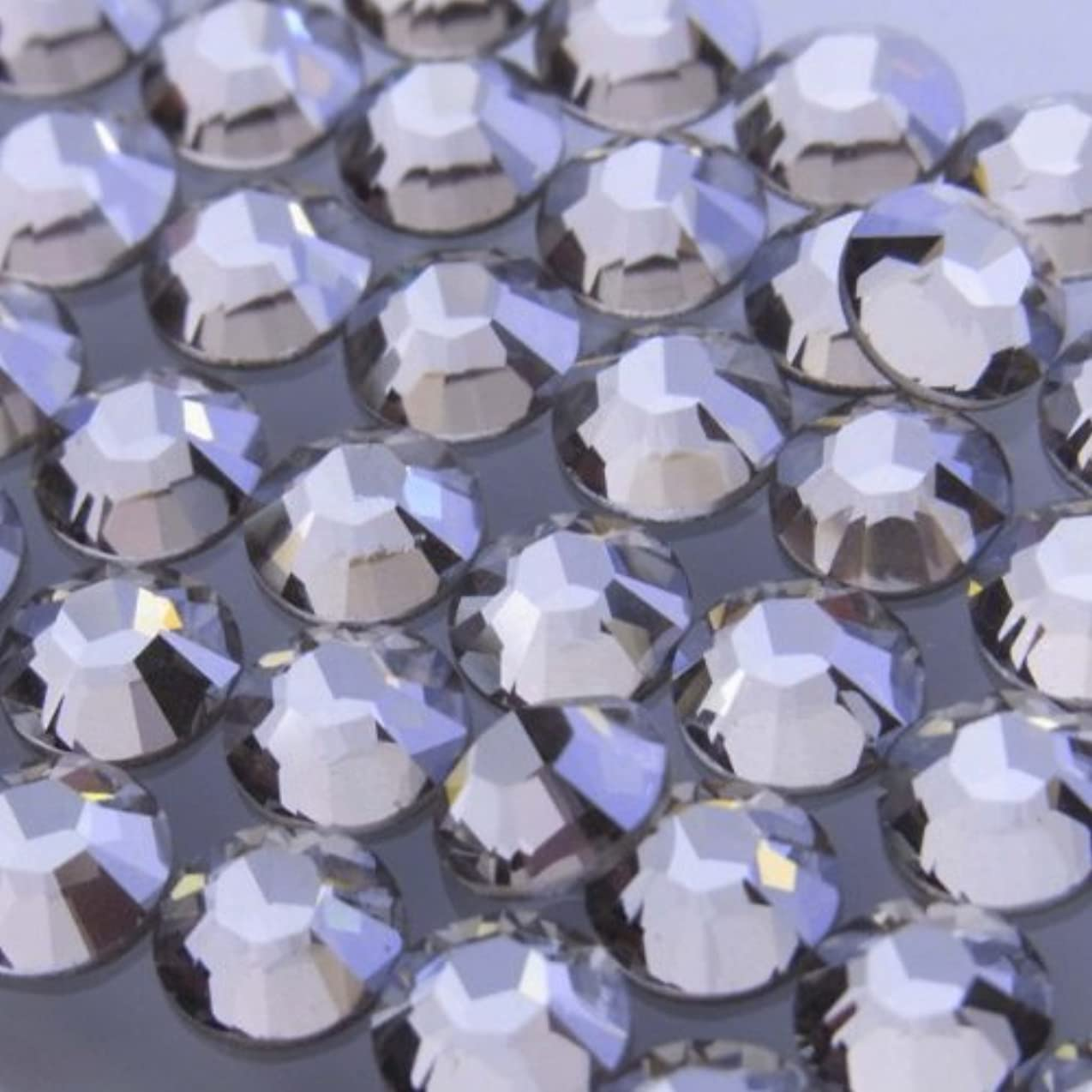 安定浸すエスカレーターHotfixクリスタルシルバーシェイドss12(100粒入り)スワロフスキーラインストーンホットフィックス