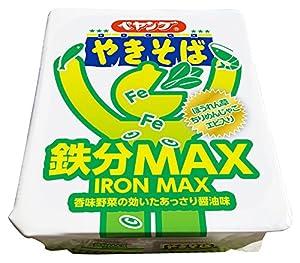 ペヤング 鉄分MAXやきそば 110g×18個