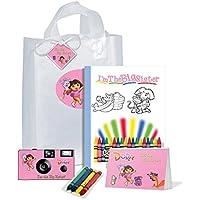 Dora the Explorer I ' m The Big Sisterの贈り物bag-full goodies-camera、フォトアルバム、カラーリングブックand More、pkg583