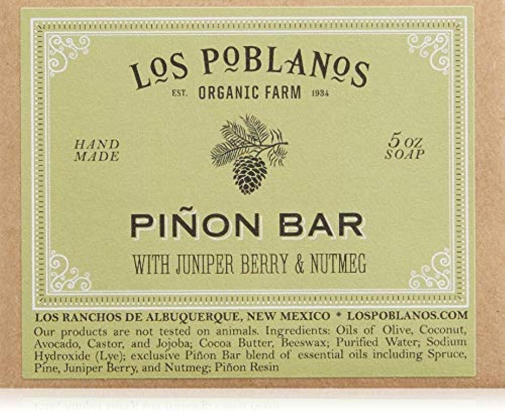 酔った学生公平LOS POBLANOS(ロス ポブラノス) ピニョン バー 130g