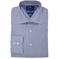 Wayver NavyTwill Stripe Business