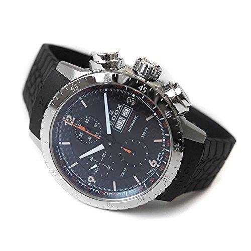 [エドックス]EDOX 腕時計 01118 3 NO クロノラリー 1 クロノグラフ オートマチック 【並行輸入品】