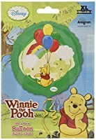 Anagram International 2416801 Winnie The Pooh Foil Balloon Pack, 18' [並行輸入品]
