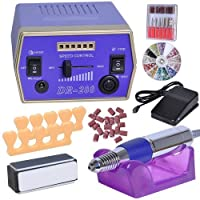 Pro Electric Nail File Drill Adjustable Manicure Tool Pedicure Machine Set Kit by AW