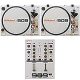 ROLAND TT-99 x2 DJ-99 DJミキサー ターンテーブル 3点セット (ローランド) 台数限定