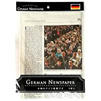German Newspaper ドイツ 新聞(本物の新聞です)3枚入