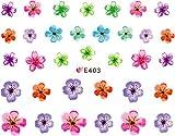 ネイルシール 押し花 フラワー 選べる9種類 (02-T63)