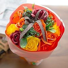 フレグランス ソープフラワー シャボンフラワー 花束 ローズブーケ FPP-809