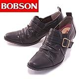 [ボブソン] BOBSON シャーリングベルトパンプス BO6006 ブラック 24.5センチ