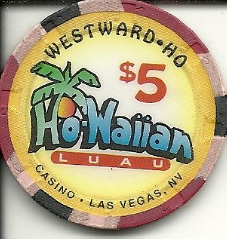 $ 5 Westward Hoカジノラスベガスカジノチップho-waiian Luau