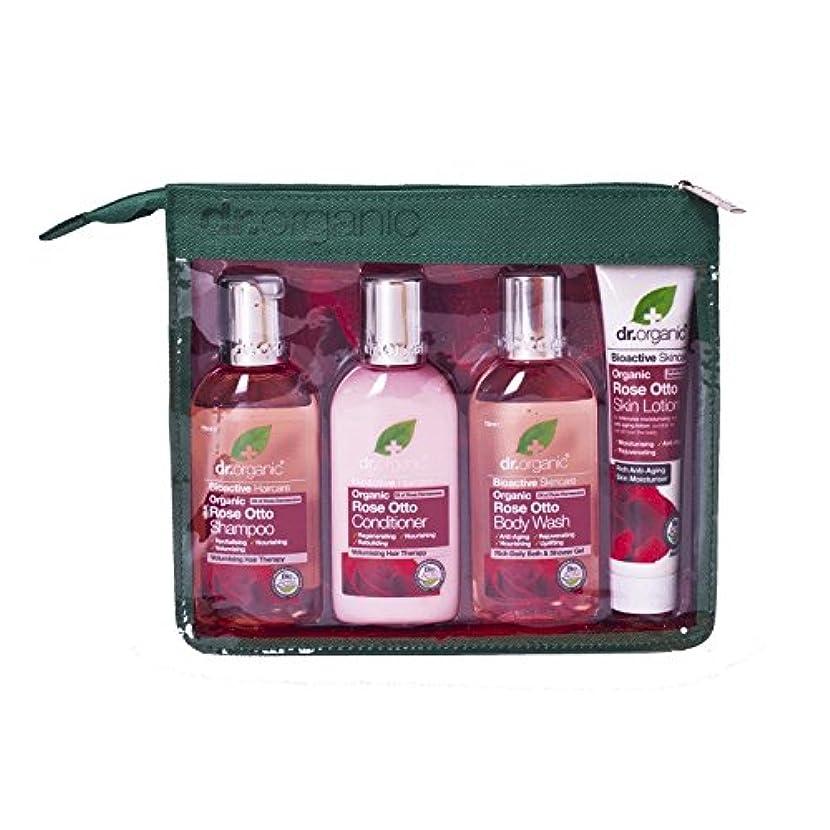 ボット透過性縮れたDr Organic Rose Otto Mini Travel Pack (Pack of 2) - Dr有機ミニ旅行パックをオットーローズ (x2) [並行輸入品]