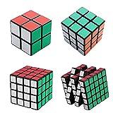 merlot立体パズルルービックキューブセット2から5まで立体パズル キューブ型パズル黒素体