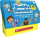 Buddy Readers Class Set, Level B: A Big Collection of Leveled Books for Little Learners