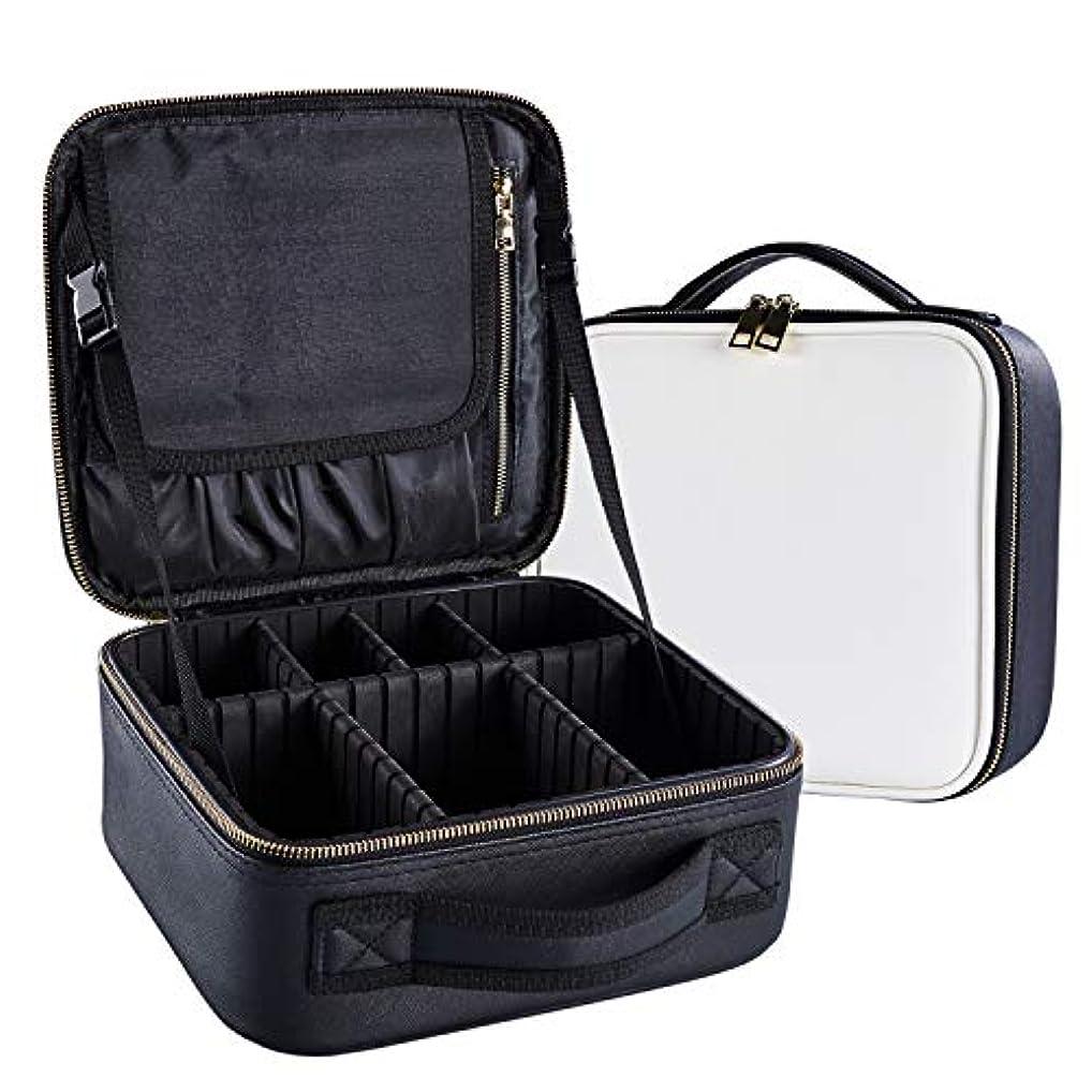 財団バイナリ地上でArcEnCiel メイクボックス プロ用 化粧道具 コスメ収納 化粧箱 收納抜群 大容量 メイクアップ ボックス