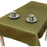 日常を 粋 に彩る紬風生地 彩-サイ- テーブルクロス 130cm×210cm グリーン 洗濯可 エスニック アジアン 和風 和モダン