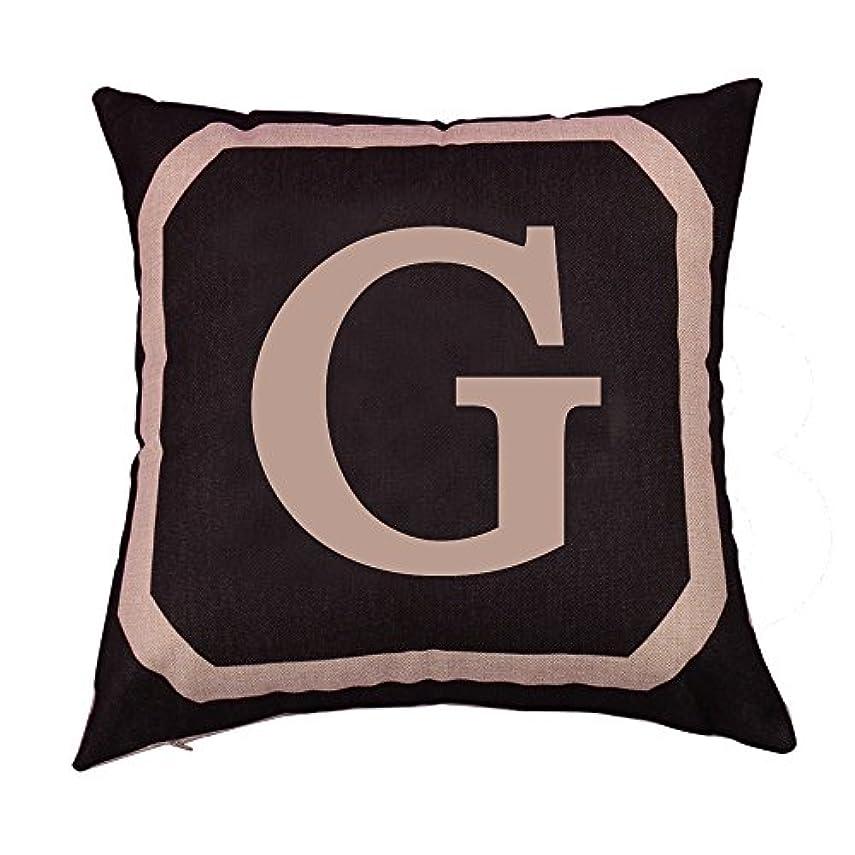 白い眠り療法コットンリネンスクエアピローケーススローダブルピローソファカバー家具G