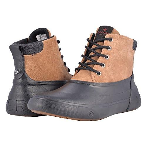 スペリー シューズ ブーツ&レインブーツ Cutwater Deck Boot Noce/Black [並行輸入品]