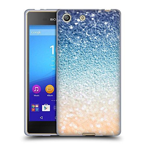 オフィシャル Monika Strigel グラマーゴールド ナイト グリッター ソフトジェルケース Sony Xperia M5 / M5 Dual