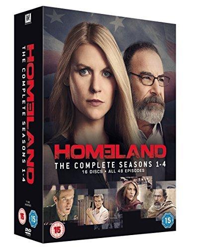 Homeland - Season 1-4 [DVD] [2011] by Claire Danes