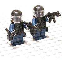 MODERN WAR 軍事カスタムブロック 特殊部隊 ツーマンセル フル装備 (重装備兵)