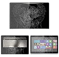 Decalrus - Protective Decal Yin Yang Skin Sticker for HP ENVY 17M AE011DX (17.3 Screen) case cover wrap HPenvy17_ae011dx-24