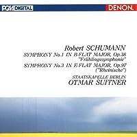Schumann: Symphonies No. 1 & No. 3 by Otmar Suitner (2010-09-21)