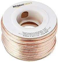 Amazonベーシック 16ゲージ スピーカーケーブル 約15メートル