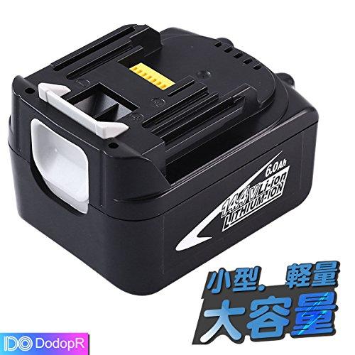 マキタ 14.4V バッテリーBL1460 マキタ14.4V 6.0Ah 電動工具用リチウム電池  2個セット BL1430 BL1440 BL1450 BL1460対応互換バッテリー 1年間品質保証DodopR