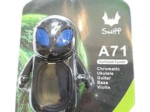 Swiff / A71 ALIEN Carton Tuner Green Clip On Tuner クリップ チューナー エイリアンくん