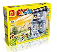 [ワング]Wange City Inn Building Blocks 480 pcs Set, Best Toy, Great Gift! [並行輸入品]