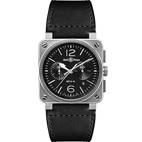 [ベルアンドロス]Bell & Ross 腕時計 BR0394-BL-SI/SCA メンズ [並行輸入品]