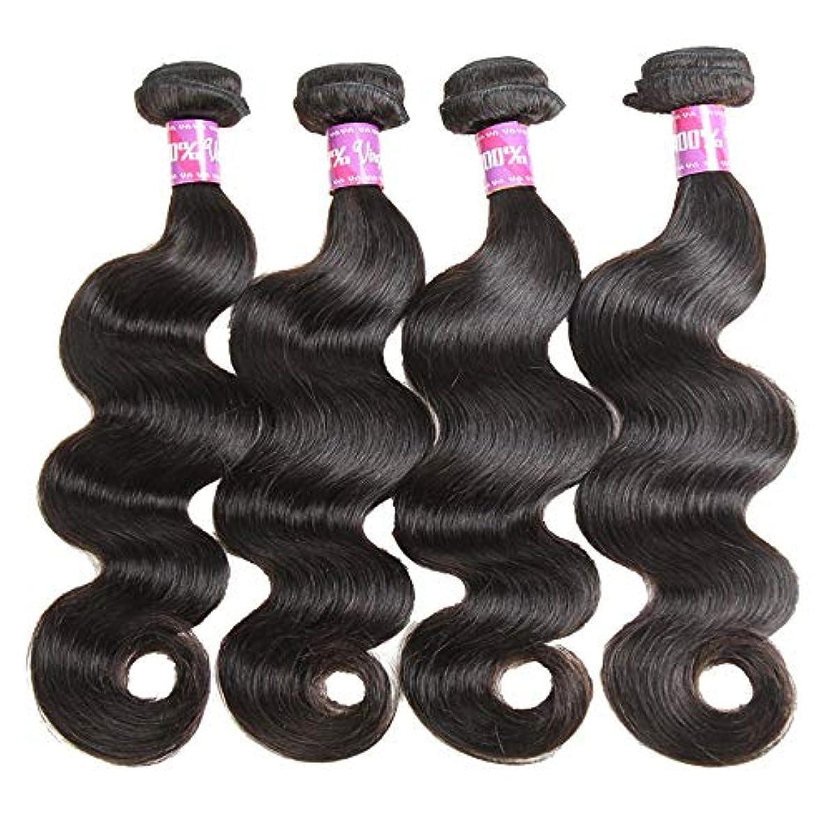 むき出しきょうだい不健康SRY-Wigファッション ヨーロッパとアメリカ黒人女性のための人間の髪の毛のかつら自然色 (Color : ブラック, Size : 24inch)