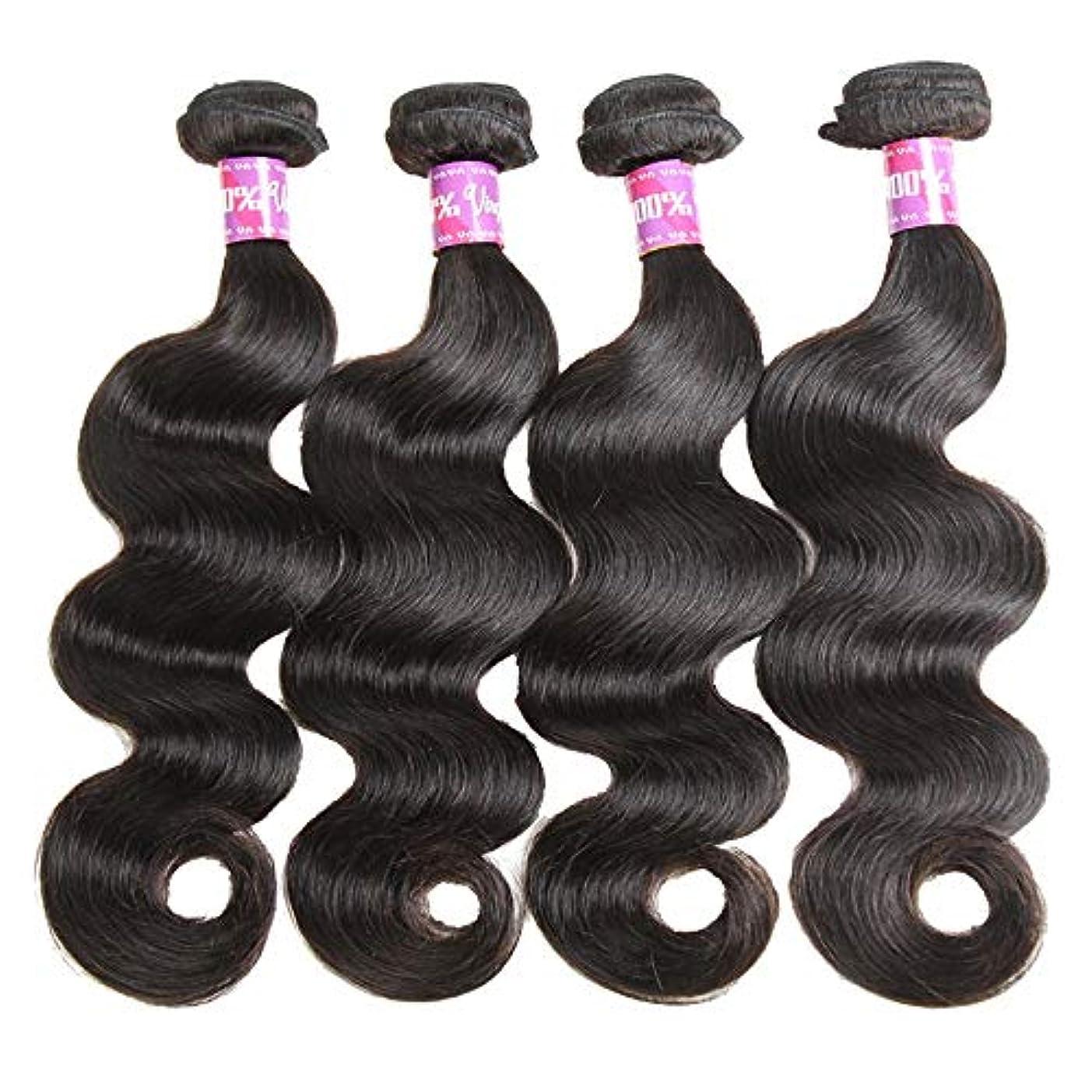 システム生まれしてはいけませんSRY-Wigファッション ヨーロッパとアメリカ黒人女性のための人間の髪の毛のかつら自然色 (Color : ブラック, Size : 24inch)