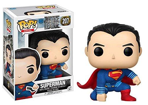 Justice League(ジャスティス・リーグ) スーパーマン FUNKO/ファンコ POP! VINYL ミニフィギュア [並行輸入品]