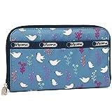 LeSportsac [レスポートサック] 長財布 レディース LESPORTSAC 6506 D916 SONG BIRDS BLUE [並行輸入品]