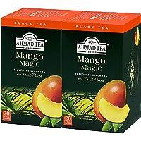 AHMAD TEA ( アーマッドティー ) マンゴー ティーバッグ 20袋 ×2個 [ 英国ブランド 個包装 ]