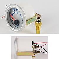 PolarLander 40~120℃カー水温計52ミリメートルステンレススチールDC12V