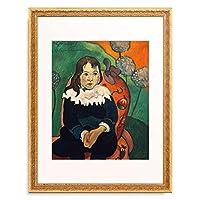 ポール・ゴーギャン Eugene Henri Paul Gauguin 「Mr Loulou, 1890.」 額装アート作品