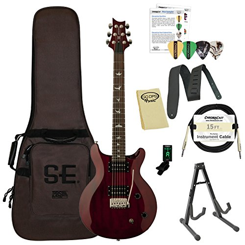 PAUME STCSVC-Kit01 SE Santana スタンダード Vintage Cherry エレキギター with ギグバッグ ギターケース & Accessories エレキギター エレクトリックギター (並行輸入)