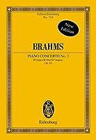 Piano Concerto 2 Op. 83 Bfl Maj (Edition Eulenburg)