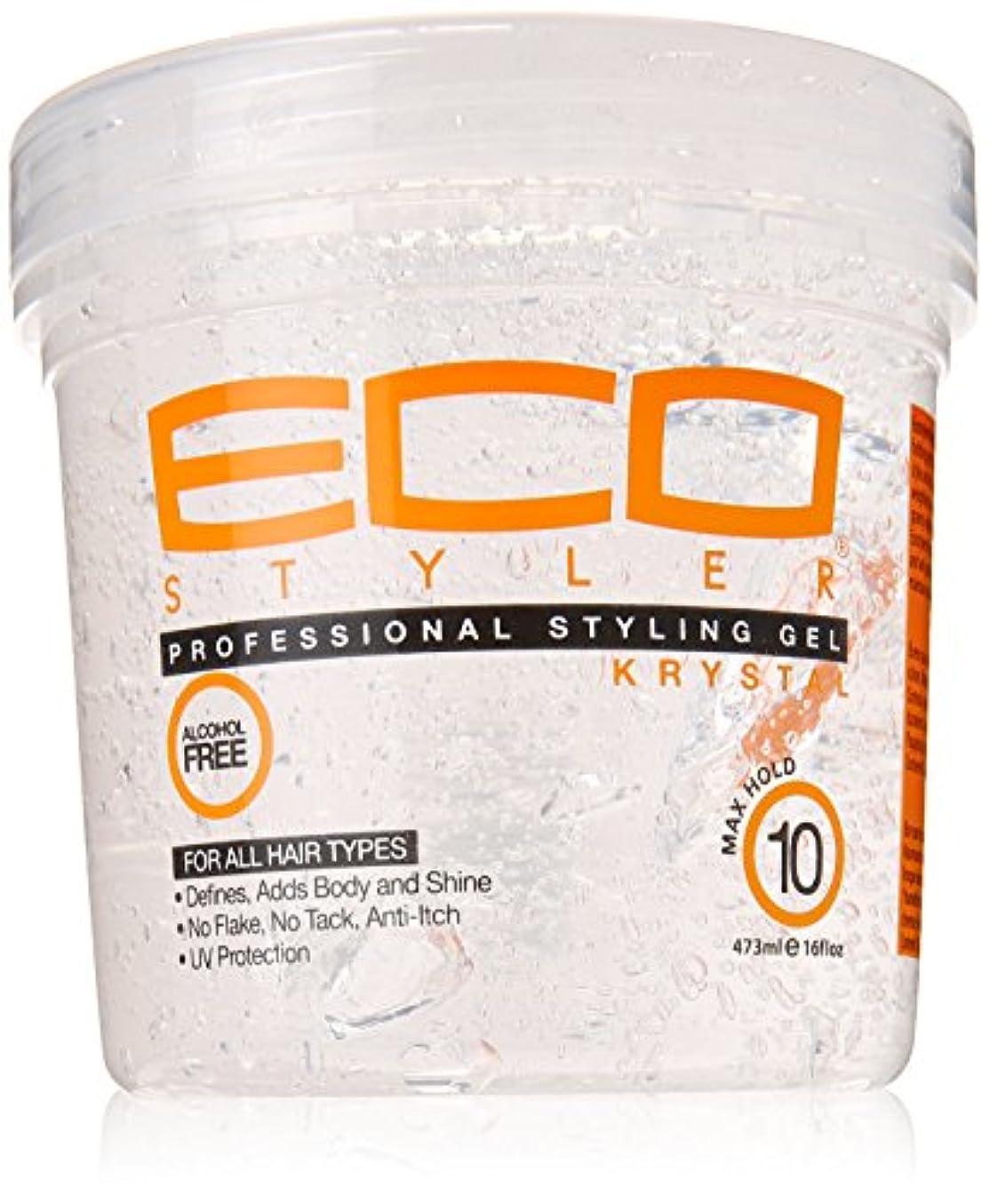 追い払うカプセル意図Eco Styler Krystal Styling Gel 470 ml (並行輸入品)