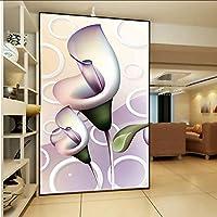 Xbwy 居間の子供の寝室の自然な花のための壁紙3D家の装飾の壁画-250X175Cm