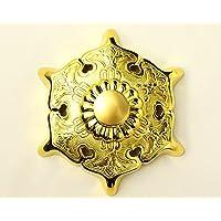 伊勢 - 宮忠 - 六葉金具 真鍮代用鍍金 2寸5分