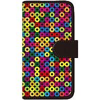 CaseMarket 手帳型 ケース レザー 厚手タイプ docomo AQUOS PHONE EX (SH-02F) 北欧 モダン モノトーン パッロ Color 2112
