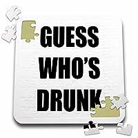 Tory Anneコレクション引用–Guess Whos Drunk–10x 10インチパズル( P。_ 238411_ 2)
