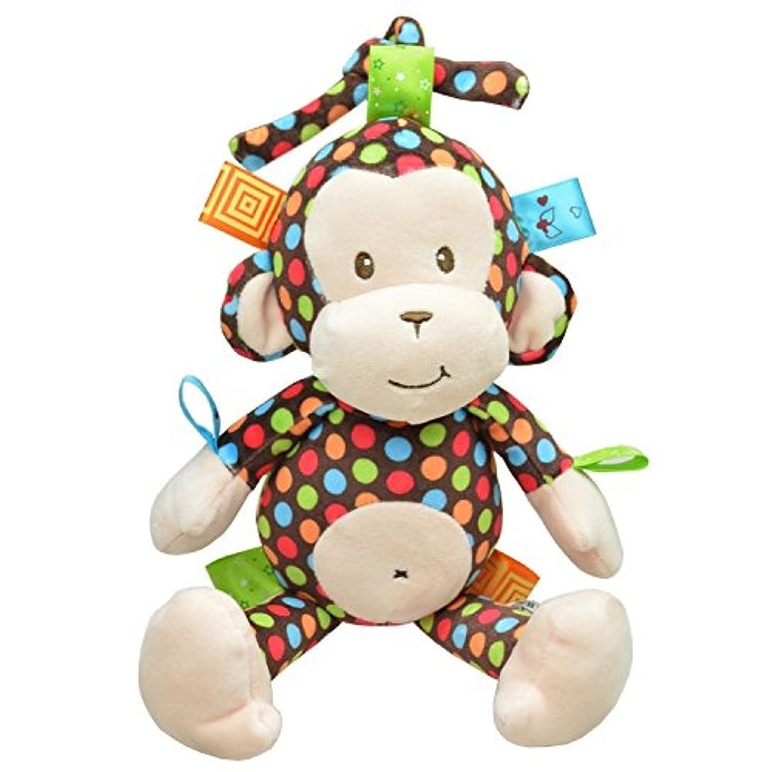 リル柔らかいサリーPinjewelry クリエイティブ ベビーコット おもちゃ カートゥーン 動物 ハンギング ラトル プッシュチェア プラム ベッド コット ベビーベッドアタッチメント