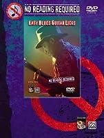 Easy Blues Guitar Licks [DVD]