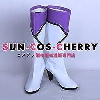 【サイズ選択可】コスプレ靴 ブーツ Z4-0055 ツキウタ。 THE ANIMATION 花園雪 2012‐16 ステージ衣装 女性25CM