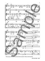 The Beatles: And I Love Her (Arr. Chilcott) (SATB). For 混声四部合唱(SATB), 合唱